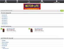 Tablet Preview of motorlife.hu